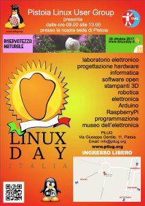 28 Ottobre 2017 nella sede del PtLUG – LinuxDay 2017