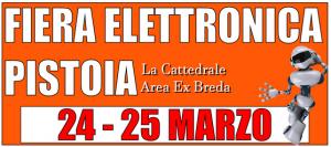 24 Marzo 2018 Presso la Cattedrale –  Fiera Elettronica Pistoia